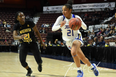 NCAA Women's Basketball AAC Tournament 1st Round - #7 Tulsa 61 vs. #10 Wichita State 50 (48)