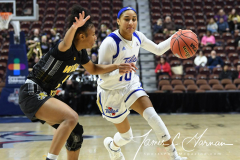 NCAA Women's Basketball AAC Tournament 1st Round - #7 Tulsa 61 vs. #10 Wichita State 50 (51)