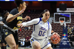 NCAA Women's Basketball AAC Tournament 1st Round - #7 Tulsa 61 vs. #10 Wichita State 50 (52)