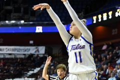 NCAA Women's Basketball AAC Tournament 1st Round - #7 Tulsa 61 vs. #10 Wichita State 50 (59)