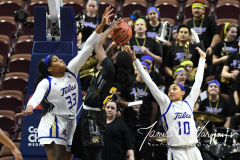 NCAA Women's Basketball AAC Tournament 1st Round - #7 Tulsa 61 vs. #10 Wichita State 50 (61)