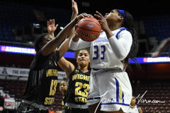 NCAA Women's Basketball AAC Tournament 1st Round - #7 Tulsa 61 vs. #10 Wichita State 50 (63)