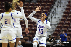 NCAA Women's Basketball AAC Tournament 1st Round - #7 Tulsa 61 vs. #10 Wichita State 50 (67)
