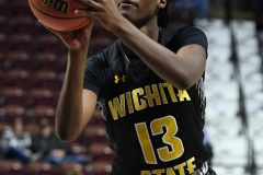 NCAA Women's Basketball AAC Tournament 1st Round - #7 Tulsa 61 vs. #10 Wichita State 50 (69)