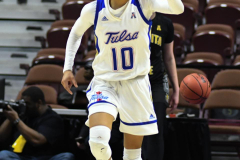 NCAA Women's Basketball AAC Tournament 1st Round - #7 Tulsa 61 vs. #10 Wichita State 50 (74)