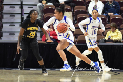 NCAA Women's Basketball AAC Tournament 1st Round - #7 Tulsa 61 vs. #10 Wichita State 50 (76)