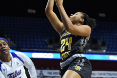 NCAA Women's Basketball AAC Tournament 1st Round - #7 Tulsa 61 vs. #10 Wichita State 50 (77)