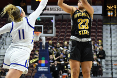 NCAA Women's Basketball AAC Tournament 1st Round - #7 Tulsa 61 vs. #10 Wichita State 50 (82)