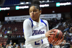 NCAA Women's Basketball AAC Tournament 1st Round - #7 Tulsa 61 vs. #10 Wichita State 50 (83)