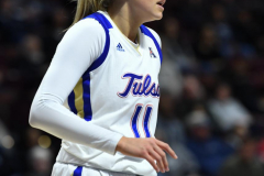 NCAA Women's Basketball AAC Tournament 1st Round - #7 Tulsa 61 vs. #10 Wichita State 50 (84)