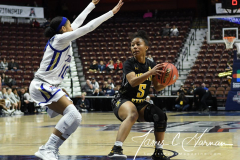 NCAA Women's Basketball AAC Tournament 1st Round - #7 Tulsa 61 vs. #10 Wichita State 50 (88)