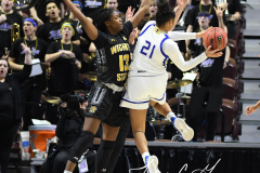 NCAA Women's Basketball AAC Tournament 1st Round - #7 Tulsa 61 vs. #10 Wichita State 50 (89)