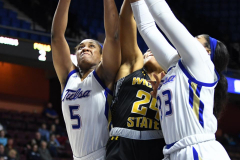 NCAA Women's Basketball AAC Tournament 1st Round - #7 Tulsa 61 vs. #10 Wichita State 50 (92)