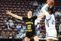 NCAA Women's Basketball AAC Tournament 1st Round - #7 Tulsa 61 vs. #10 Wichita State 50 (94)