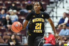 NCAA Women's Basketball AAC Tournament 1st Round - #7 Tulsa 61 vs. #10 Wichita State 50 (95)