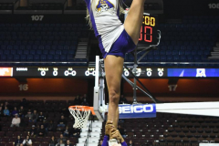 NCAA Women's Basketball AAC Tournament 1st Round #8 ECU 50 vs. #9 SMU 48 (10)