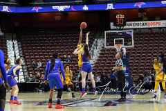 NCAA Women's Basketball AAC Tournament 1st Round #8 ECU 50 vs. #9 SMU 48 (11)