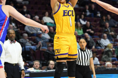 NCAA Women's Basketball AAC Tournament 1st Round #8 ECU 50 vs. #9 SMU 48 (16)