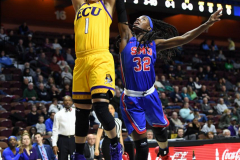 NCAA Women's Basketball AAC Tournament 1st Round #8 ECU 50 vs. #9 SMU 48 (19)