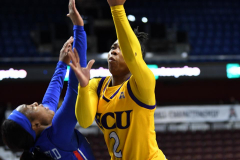 NCAA Women's Basketball AAC Tournament 1st Round #8 ECU 50 vs. #9 SMU 48 (22)