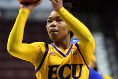 NCAA Women's Basketball AAC Tournament 1st Round #8 ECU 50 vs. #9 SMU 48 (24)