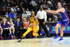 NCAA Women's Basketball AAC Tournament 1st Round #8 ECU 50 vs. #9 SMU 48 (25)