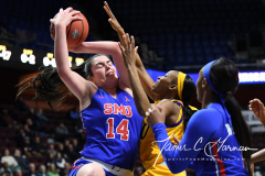 NCAA Women's Basketball AAC Tournament 1st Round #8 ECU 50 vs. #9 SMU 48 (26)