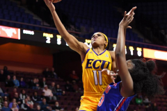 NCAA Women's Basketball AAC Tournament 1st Round #8 ECU 50 vs. #9 SMU 48 (28)