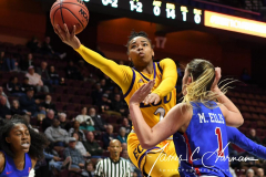 NCAA Women's Basketball AAC Tournament 1st Round #8 ECU 50 vs. #9 SMU 48 (31)