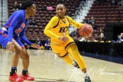 NCAA Women's Basketball AAC Tournament 1st Round #8 ECU 50 vs. #9 SMU 48 (33)