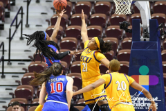 NCAA Women's Basketball AAC Tournament 1st Round #8 ECU 50 vs. #9 SMU 48 (34)