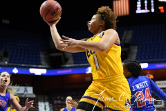 NCAA Women's Basketball AAC Tournament 1st Round #8 ECU 50 vs. #9 SMU 48 (36)