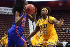 NCAA Women's Basketball AAC Tournament 1st Round #8 ECU 50 vs. #9 SMU 48 (43)