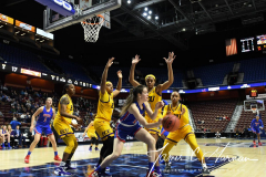 NCAA Women's Basketball AAC Tournament 1st Round #8 ECU 50 vs. #9 SMU 48 (48)