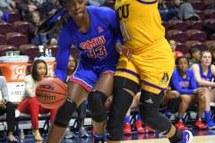 NCAA Women's Basketball AAC Tournament 1st Round #8 ECU 50 vs. #9 SMU 48 (50)