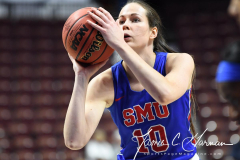 NCAA Women's Basketball AAC Tournament 1st Round #8 ECU 50 vs. #9 SMU 48 (52)