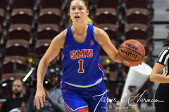 NCAA Women's Basketball AAC Tournament 1st Round #8 ECU 50 vs. #9 SMU 48 (57)