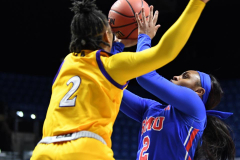 NCAA Women's Basketball AAC Tournament 1st Round #8 ECU 50 vs. #9 SMU 48 (59)