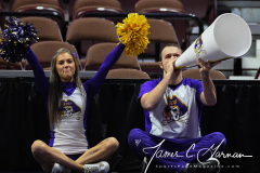 NCAA Women's Basketball AAC Tournament 1st Round #8 ECU 50 vs. #9 SMU 48 (61)