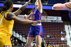 NCAA Women's Basketball AAC Tournament 1st Round #8 ECU 50 vs. #9 SMU 48 (63)