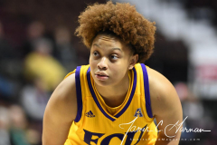 NCAA Women's Basketball AAC Tournament 1st Round #8 ECU 50 vs. #9 SMU 48 (66)