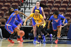 NCAA Women's Basketball AAC Tournament 1st Round #8 ECU 50 vs. #9 SMU 48 (68)