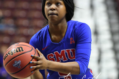 NCAA Women's Basketball AAC Tournament 1st Round #8 ECU 50 vs. #9 SMU 48 (69)