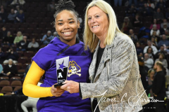 NCAA Women's Basketball AAC Tournament 1st Round #8 ECU 50 vs. #9 SMU 48 (7)