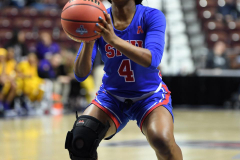 NCAA Women's Basketball AAC Tournament 1st Round #8 ECU 50 vs. #9 SMU 48 (70)