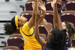 NCAA Women's Basketball AAC Tournament 1st Round #8 ECU 50 vs. #9 SMU 48 (73)