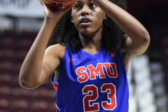 NCAA Women's Basketball AAC Tournament 1st Round #8 ECU 50 vs. #9 SMU 48 (76)