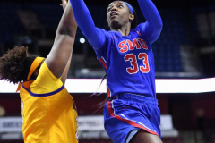 NCAA Women's Basketball AAC Tournament 1st Round #8 ECU 50 vs. #9 SMU 48 (80)