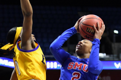 NCAA Women's Basketball AAC Tournament 1st Round #8 ECU 50 vs. #9 SMU 48 (81)