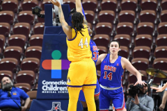 NCAA Women's Basketball AAC Tournament 1st Round #8 ECU 50 vs. #9 SMU 48 (83)